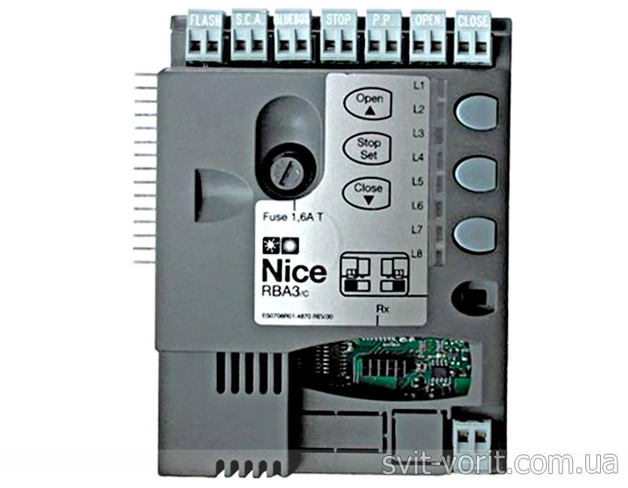 Robus 1000 Nice Автоматика для откатных ворот (Найс Робус 1000, электропривод). Оптовая цена от официального дистрибьютора. Купи